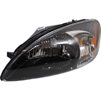 Fits 00-07 Ford Taurus Left Driver Headlamp Assembly With Black Bezel