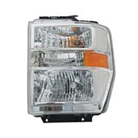 Fits 08-14 Ford E Series Van & 15 E350 Left Driver Composite Headlamp Assembly