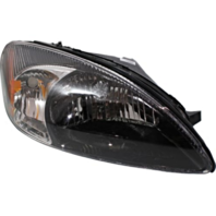 Fits 00-07 Ford Taurus Right Pass Headlamp Assembly With Black Bezel