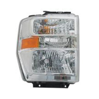 Fits 08-14 Ford E Series Van & 15 E350 Right Pass Composite Headlamp Assembly