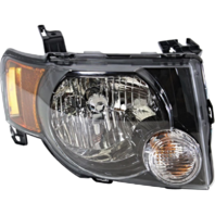 08-12 Ford Escape & Escape Hybrid Right Passenger Headlamp Assembly W/Dark Bezel