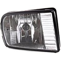 Fits 00-02 Lincoln LS Right Passenger Fog Lamp - Rectangular Design