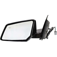 Fits 07-10 Saturn Outlook Left Driver Power Mirror W/ Heat and Manual Folding