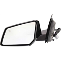 Fits 07-10 Saturn Outlook Left Driver Power Mirror W/Heat, Signal Manual Folding