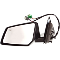 Fits 07-10 Saturn Outlook Left Driver Pwr Mirror W/Heat,Memory,Signal,Power Fold