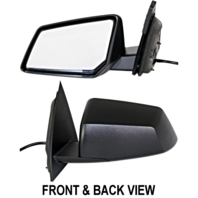 Fits 07-10 Saturn Outlook Left Driver Power Mirror With Manual Folding