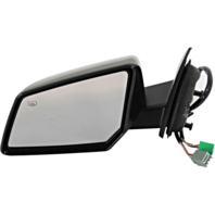 Fits 07-10 Saturn Outlook Left Power Mirror With Heat, Memory, Signal,Power Fold