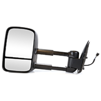 Fits 02 Escalade / Avalanche Left Driver Power Mirror W/Heat Manual Telescopic
