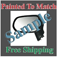 Painted to Match Mirror Fits 09-15 Traverse 07-15 Acadia Right Ht Signal ManFold