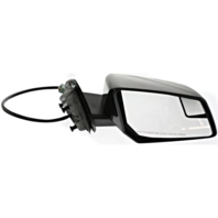 Fits 07-10 Saturn Outlook Right Pass Pwr Mirror W/Heat, Sig, Spotter,Manual Fold