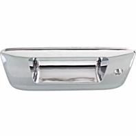 Fits O7*-13 Silverado, Sierra 1500, 07-14 2500, 3500 Tailgate Bezel Chrome Models w/ Keyhole