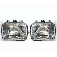 Sealed Beam Headlight Fits 96-15 Chevy Express, GMC Savana Van Left & Right Set