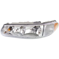 Fits 97-05 Buick Century 97-04 Regal Left Driver Headlamp Assem No Corner Lamp