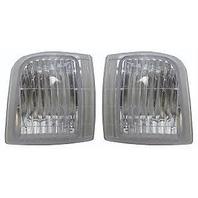 Fits 95-05 Chevy Astro & GMC Safari Left & Right Corner Lamps (Set)