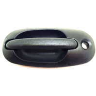 Fits 96-00 Caravan, Voyager, Town & Country Left Driver Outside Sliding Door Handle w/ Keyhole