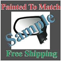 Painted to Match Manual Mirror Fits 06-11 Honda Civic Sedan Left Driver