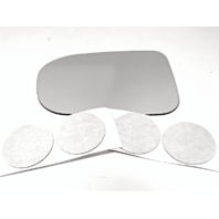Fits 14-15 Civic Left Driver Side Heated Mirror (Glass Lens Only) w/Adhesive