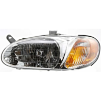 Fits 98-01 Kia Sephia Left Driver Headlamp Assembly