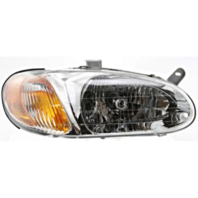 Fits 98-01 Kia Sephia Right Passenger Headlamp Assembly