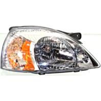 Fits 03-05 Kia Rio / Rio Cinco Right Passenger Headlamp Assembly