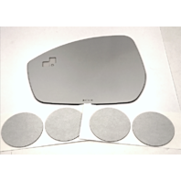 Left Driver Mirror Glass Lens w/Blind Spot Crosspath for 14-17 Evoque 15-17 Discovery Sport