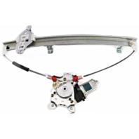 Fits 00-06 Sentra Right Pass Front Power Window Regulator W/Motor No Anti Pinch