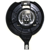 Fits 05-17 Frontier Left Driver Fog Light Lamp With Chrome Bumper