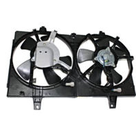Fits 00-01 Maxima 00-01 Infiniti I30 Dual Cooling Fan Assembly