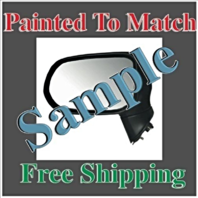 Painted to Match Power Mirror Fits 07-11 Camry Right Pass Heated USA/Japan Built