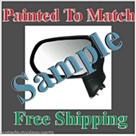 New Painted to Match Mirror Fits 04-09 Toy Prius Right Pass Power non Heat