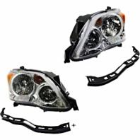 Left & Right Halogen Headlight Assmblies Set for 08-10 Toy Avalon