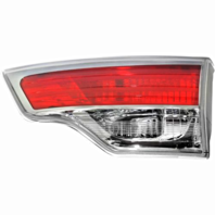 Inner Tailgate Mounted Back-Up Tail Light Assemblies Left & Right for 14-17 Toy Highlander