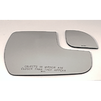Fits 15-17 Sienna Right Passenger Mirror Glass Lenses Set as Pictured