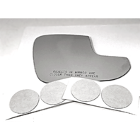 Fits 16-18 Toy Rav4 Right Pass Larger Convex Mirror Glass Lens w/Adhesive
