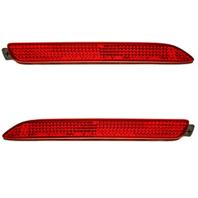 Left & Right Set Rear Reflectors Fits Lx GX470, IS F, NX/RC200t, 300h, RC350, RX300