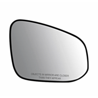 Fits 14-18 Toy Highlander Right Passenger Convex Mirror Glass w/ Rear Holder