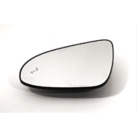 Fits 13-17 Camry Left Driver Mirror Glass w/ Blind Spot Detection w/Holder