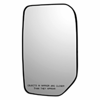 Right Pass Convex Mirror Glass w/ Rear Back Plate OE for 07-14 Toy FJ Cruiser
