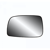 Fits 07-11 Toy Camry Left Driver Heated Mirror Glass w/Rear Holder USA built only Vin# 1,4,5