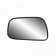 92-01 Toy Camry Left Driver Side Heated Mirror Glass w/ Rear Mount Back Plate