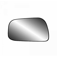 92-01 Toy Camry Left Driver Side Mirror Glass w/ Rear Mount Back Plate