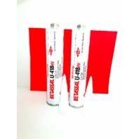 Dow Betaseal Auto Glass High Viscosity Urethane, Adhesive, Sealant - Primerless  U-418HV  2 Tubes