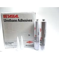 (2) 10.5 oz Tubes Auto Glass Urethane Adhesive, Sealant, Glue, U428+ Primerless