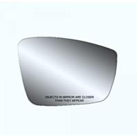 Right Passenger Side Heated Mirror Glass w/ Rear Back Plate for 13-15 Passat