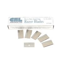 "CRL .012"" Single Edge Heavy Duty Metal Razor Blades 100 pack"