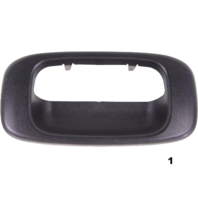 Tailgate Textured Handle Trim Bezel Replacement for Chevrolet GMC Pickup Truck