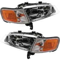 Fits 94-97 Accord Headlights OE Style Replacement Headlamps Driver/Pass Pair New