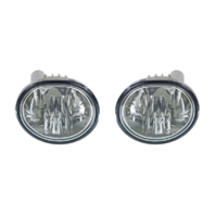 Fits 03-08 Toy Matrix  03-08 Pont  Vibe Left & Right Fog Lamp Assemblies - Pair