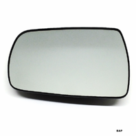 Fits 06-14 Sedona 07-08 Entourage Lt Driver Mirror Glass Heated w/Backing Plate OE