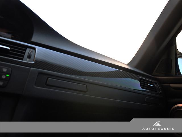 Autotecknic 2008 Bmw M3 E92 6 Speed Manual Carbon Fiber Interior Trim Kit